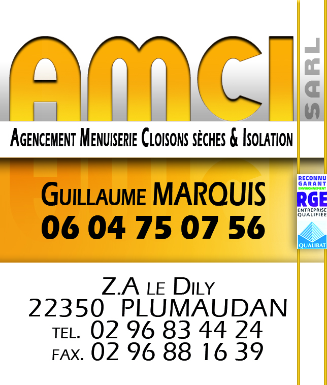 AMCI : Agencement Menuiserie Cloison Isolation